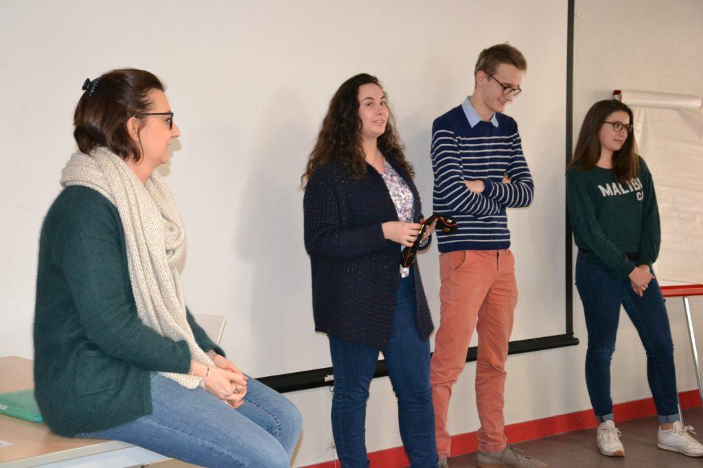 Accueil parles étudiants de prépa et les professeurs